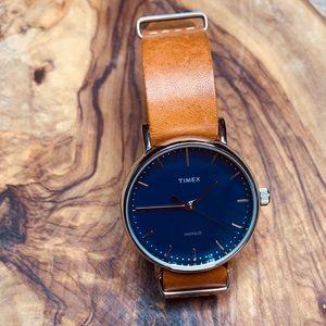 Unisex Timex Weekender Fairfield Indiglo Watch